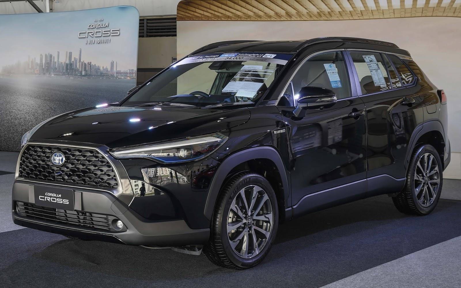 Toyota Corolla Cross Top carros a serem lançados no Brasil em 2021